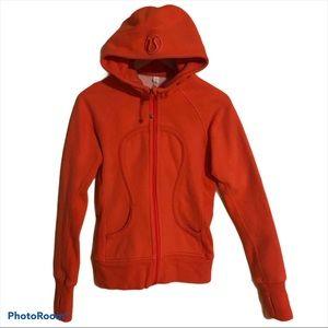 Lululemon Zip Up Hooded Scuba Size 4